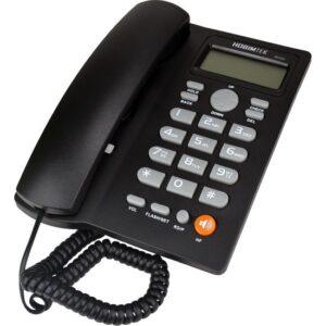Hobimtek Dextel Ekranlı Kablolu Telefon Masa Telefonu Siyah 46559
