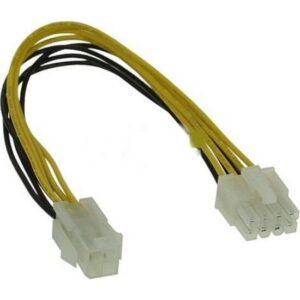 Alfais 4261 4 Pin To 8 Pin Güç Çevirici Power Supply Çevirici Kablosu