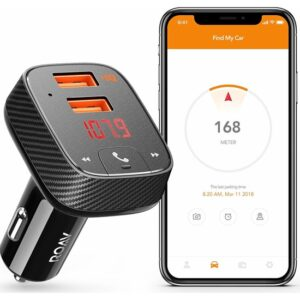 Anker Roav Smartcharge F2 Akıllı Araç Bulucu Bluetooth Hızlı Araç Şarjı - R5111012 - OFP