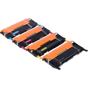 Premium® Samsung CLP325 Uyumlu 4 Renk Muadil Toner Seti