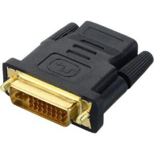 Alfais 4566 HDMI Dişi DVI - I (24+5) Erkek Çevirici Dönüştürücü Adaptör