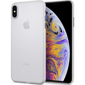 Spigen Apple iPhone XS Max Kılıf Air Skin (0.3 mm) Ultra İnce Soft Clear - 065CS24829