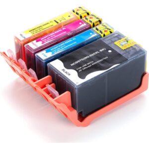 For Lexmark Hp Officejet 7500A Muadil Kartuş Seti Cmyk 4 Renk Sarı Kırmızı Mavi Siyah Takım 920Xl