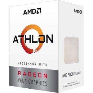 AMD Athlon 200GE 3.2GHz 4MB Cache Soket AM4 35W İşlemci