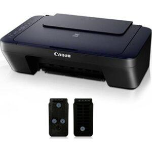 Canon Tıpalı Kartuşlu Canon E414 Yazıcı,Tarayıcı, Fotokopi ve 1 Paket Fotoğraf Kağıdı