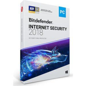 Bitdefender İnternet Security 2018 5 Cihaz 1 Yıl