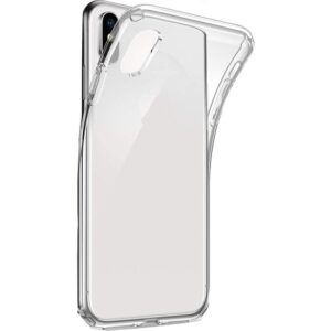 TeknoArea Apple iPhone XS Max 6.5 inç Kılıf Ultra İnce Silikon Kapak 0.2 mm Transparan
