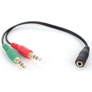 Bludfire Kulaklık-Mikrofon Dönüştürücü Y Kablo