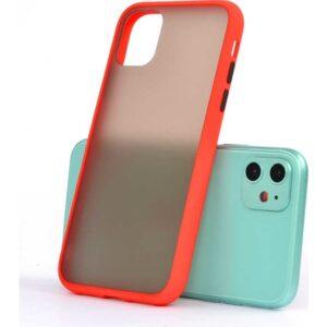 Zore Apple iPhone 11 Kılıf Silikon - Kırmızı