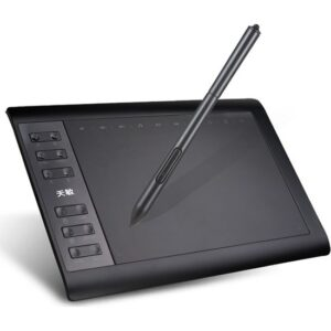 "10moons 1060 Plus 10x6"" Profesyonel Dijital Grafik Tablet"