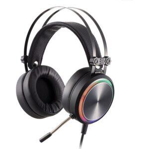 MF Product Strike 0160 Rgb Kablolu Kulak Üstü Gaming Kulaklık 7.1 Usb Siyah