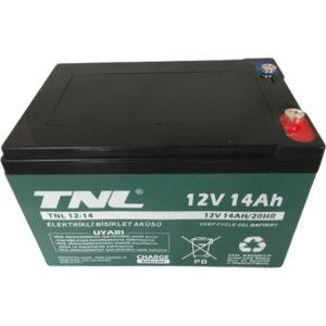 TNL 12V 14AH Elektrik Bisiklet Aküsü