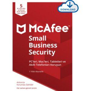 McAfee Small Business Security 05 Cihaz Windows&MacOS (Sınırsız mobil iOS ve Android)