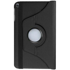 """Fibaks Huawei Mediapad T5 10.1"""" Kılıf 360 Derece Dönebilen Standlı Tam Koruma Akıllı Kapak Siyah"""