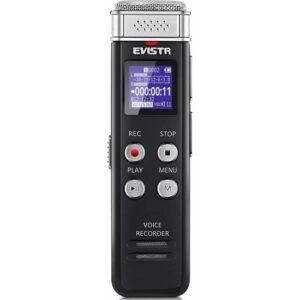 Evistr 16GB Dijital Ses Kayıt Cihazı (Yurt Dışından)