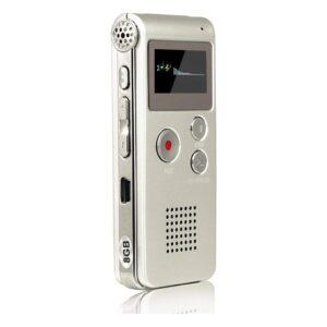 Voice Recorder 8 GB Ses Kayıt Cihazı Mp3 Özellikli