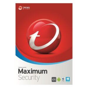 Trend Micro Maximum Security - 5 Bilgisayar / 1 Yıl