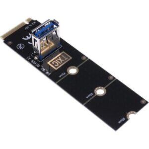 Blueway Altın Kaplama NGFF Pci-E M2 To USB 1X 3.0 M.2 Riser Kart