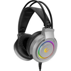 Rampage Rm-X5 Aırs Gri 7.1 USB Rgb LED Mikrofonlu Kulaküstü Kulaklık
