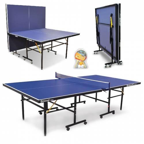 Dynamic Delux İndoor Masa Tenisi Masası, 2 Raket 3 Top ve Ağdemir Hediyeli - İç Mekan - Kolay Kurulu