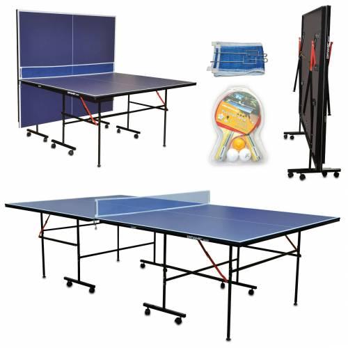 Dynamic Sport İndoor Masa Tenisi Masası - Ağdemir Set ve 2 Raket 3 Top Hediyeli - Kolay Kurulum