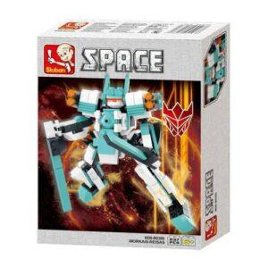 Sluban Kutulu Blok Dönüşen Robot 237 Parça 38-386/87