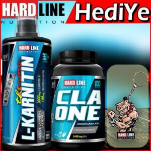Hardline L-Karnitin Thermo 1000 Ml Carnitine + Hardline Cla 100 Kapsül Kampanya Hardlıne
