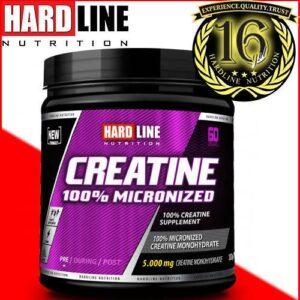 Hardline Creatine 300 Gr %100 Mikronize Kreatin 16 YILLIK TECRÜBE Kaliteli Hammadde Hardlıne