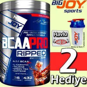 BigJoy Bcaa Pro 4:1:1 Ripped 432 Gr Özel Termojenik Karışım İlave Aromalı