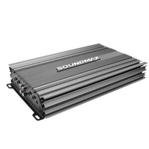 Soundmax SX-2000.4AB 4 Kanallı 3000 Watt Oto Anfi Amplifikatör