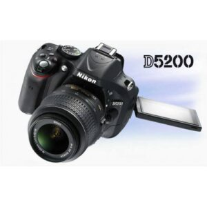 Nikon D5200 18-55mm Siyah
