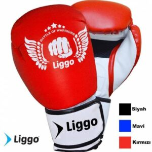 Çocuk Boks Eldiveni Kick Boks Muay Thai Eldiveni Liggo Force