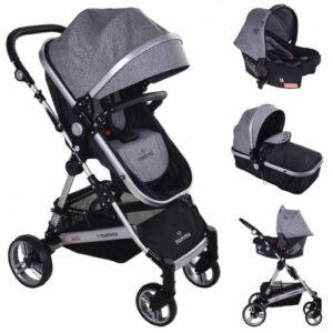 Mamma Fox Travel Sistem Amortisörlü Bebek Arabası
