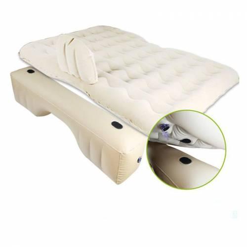 Şişme Araba Yatağı Seti Yatak Yastık Pompa Tamir Seti ve Taşıma Çantası Tam Set