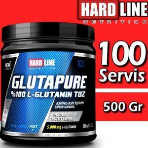 Hardline Glutapure 500 Gr L Glutamine SKT 01/2022 Hardlıne Glutamin