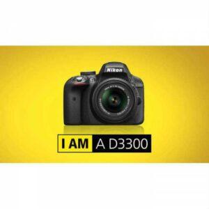 Nikon D3300 18-55mm Siyah
