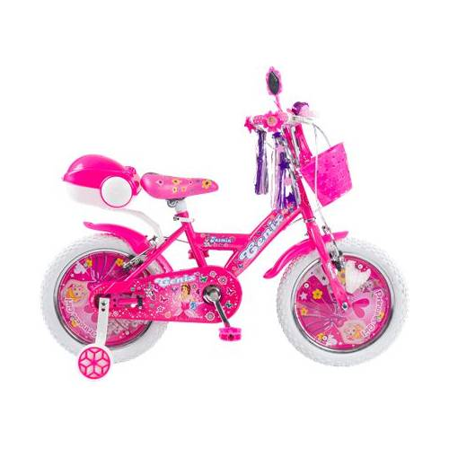 16 Jant Cenix Jasmin Prenses Beyaz Tekerli Çocuk Bisikleti 4-7 Yaş Kız Bisikleti