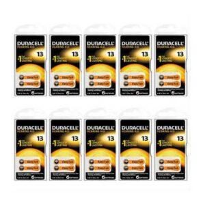 Duracell 13 Numaralı Kulaklık Pili 6 x 10 ( 60 adet )