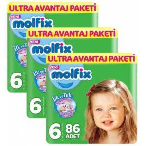 Molfix 6 Beden 86 Adet