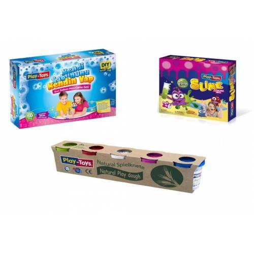 Play Toys Eğitici Oyun Seti 3 Farklı Eğitici Oyun Seti