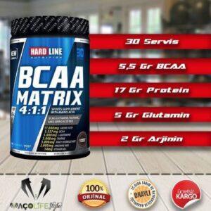Hardline Nutrition BCAA Matrix 630 gr