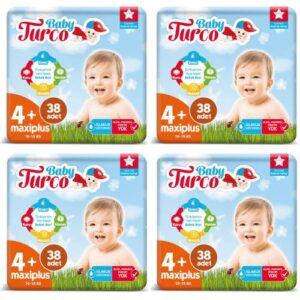 Baby Turco 4+ Beden 38 Adet