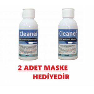 MİSPAK Antiseptik Solüsyon El ve Cilt Dezenfektanı Alkol Bazlı 100 ML X 2 ADET MASKE HEDİYELİ