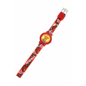 Çocuk Kol Saati Sarı Kırmızı Yarış Arabalı Taraftar Model Colıseum Çocuk Kol Saati Ç72