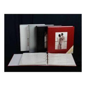 10x15cm 500 lük Deri Fotoğraf Albümü / ACR-14LPP46500 Siyah