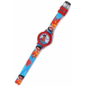 Çocuk Kol Saati Süpermen Model Silikon Kordon Colıseum Çocuk Kol Saati Ç21