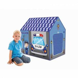 Polis Merkezi Çocuk Oyun Çadırı 68x100x100 Cm Erkek Çocuk Oyun Evi İç Ve Dış Mekan Kullanımına Uygun