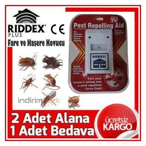 Riddex Plus Elektronik Fare ve Haşere Kovucu (Ücretsiz Kargo)