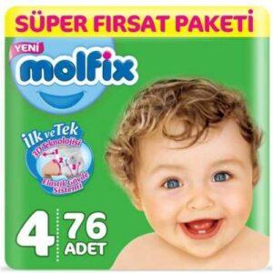 Molfix 4 Beden 76 Adet