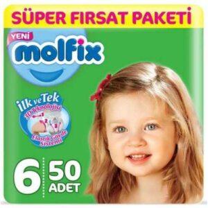 Molfix 6 Beden 50 Adet